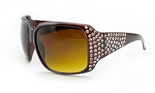 Newbee Fashion - Kyra Women's Beautiful Rhinestone Fashion - Glasses Beautiful Sun