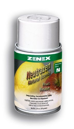 Zenex Neutrazen Fruit Basket Scent Metered Odor Neutralizer - 12 Cans (Case)