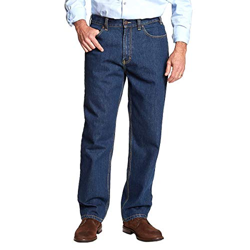 Kirkland Signature Authentic Jeans Wear (40 x 32 Blue)