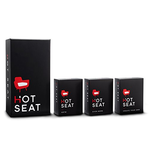 Hot Seat - The Party Game About Your Friends (The Complete Set)