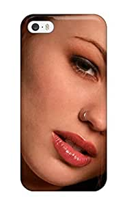 Excellent Iphone 5C Case Tpu Cover Back Skin Protector Girl With Nose Pierce