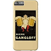 Biere Gangloff Vintage Poster (artist: Ylen, Jean D') France c. 1930 (iPhone 6 Plus Cell Phone Case, Slim Barely There)
