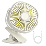 Best Clip Fans - Baby Stroller USB Clip Fan with Night Light Review