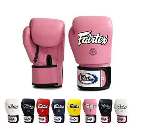 Fairtex Muay Thai Boxing Gloves BGV1 Training & Sparring All Purpose Gloves - Solid Pink 14 -