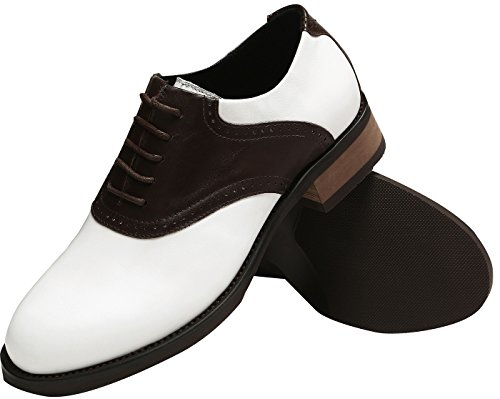 U-lite Womens Classique Selle Oxford, Cuir Sadie Chaussures Chocolat
