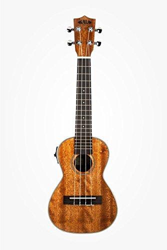 Kala KA-CGE Gloss Mahogany Concert Ukulele with Electronics Natural (Kala Ka Ce Acoustic Electric Concert Ukulele)