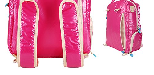 Forme el paquete picante del micrófono de la madre, paquete multi-funcional de la botella bolso del bebé de la madre, salen la bolsa de hombro ultra-ligera impermeable de la madre ( Color : Azul ) Amarillo