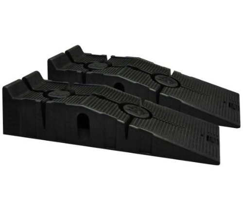 RhinoGear 11909 RhinoRamps Vehicle Ramps (Pair, 12,000lb. GVW Capacity) ()