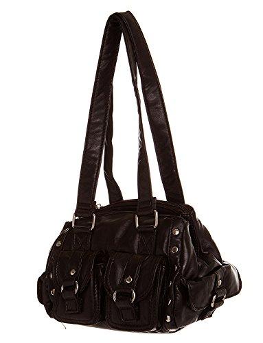 Stylish Small Hobo women Shoulder All handbag Soft Chocolate by Handbag Handbags For SqHq5wU