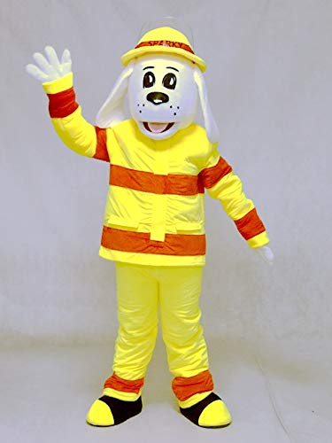 rushopn Sparky The Fire Dog Mascot Costume Animal NFPA Mascot Suit]()