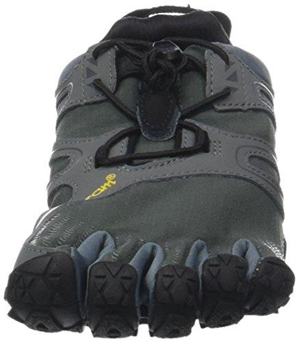 Vibram Fem Mænd V-spor Trail Løbesko Grå (mørkegrå / Salvie) IQO9Vx