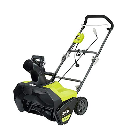 Ryobi 20 in. 13 Amp Corded Electric Snow Blower – New Model