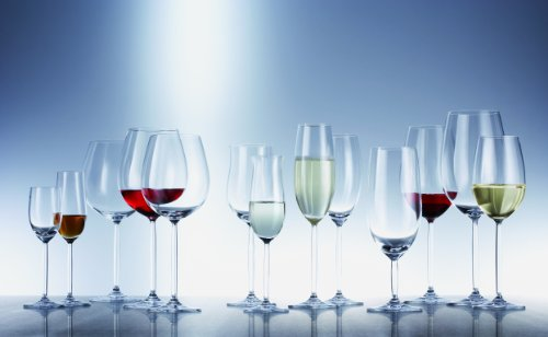 Schott Zwiesel Tritan Crystal Glass Diva Stemware Collection Claret/Bordeaux Goblet, Red Wine Glass, 26-Ounce, Set of 6 by Schott Zwiesel (Image #4)'
