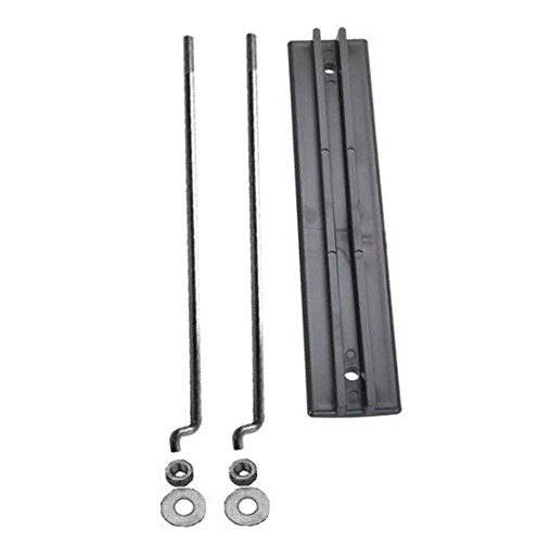 ZaZaTool Golf Cart Battery Hold Down Plate, Rods, Washers & Nuts for Club Car 36volt 48v 00Up ()