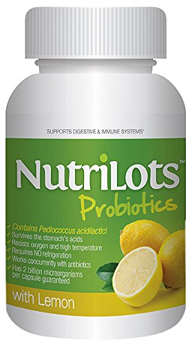 NutriLots with Lemon Dietary Supplement Capsules, 60 Count