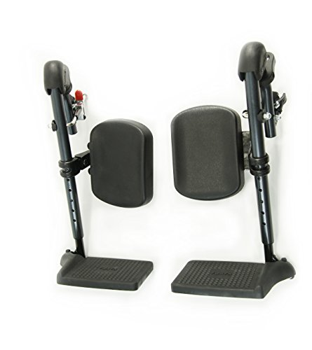 Karman Healthcare Elevating Leg Rest for S-100 Series Wheelchair, 18 Inch, 5 Pound