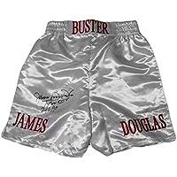 "$89 » James 'Buster' Douglas Signed Autographed""Tyson K.O. 2-10-90"" Boxing Trunks - JSA COA"