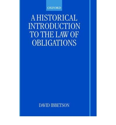 Download A Historical Introduction to the Law of Obligations(Hardback) - 2002 Edition pdf