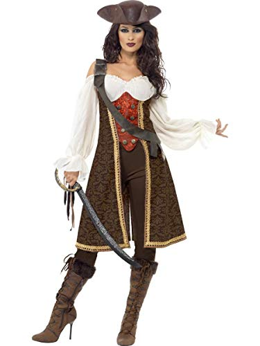 ESSA OAT clothes series High Seas Pirate Wench Buccaneer Swashbuckler Adult Costume ()
