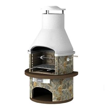 Barbacoa de mampostería con asado – Rondo – diseño moderno