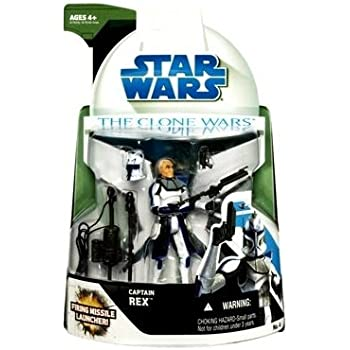 Amazoncom Captain Rex With Firing Missile Launcher Star Wars
