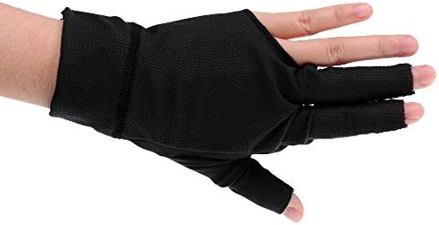 Guante profesional de billar carambola Billar mano izquierda para tiratori DX: Amazon.es: Electrónica
