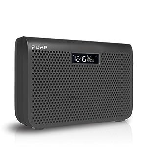 pure one midi series 3 s3 dab digital fm portable radio with alarm clock g. Black Bedroom Furniture Sets. Home Design Ideas