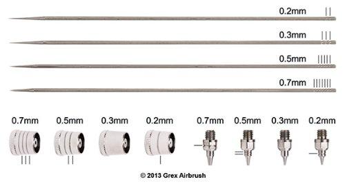 Grex TK-5 Tritium 0.5mm Nozzle Kit