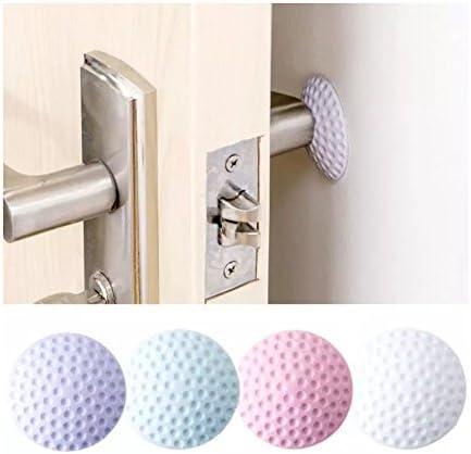 Chiloskit 12PCS adesivo gomma silenziatore porta buffer Crash Pad protezioni da parete maniglia paraurti guardia tappi