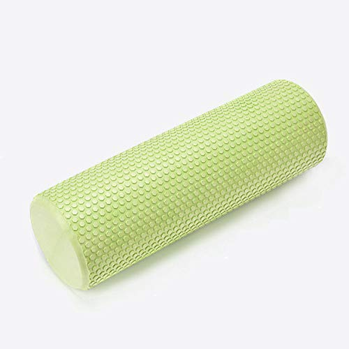 JUANLIANLIAN Eva Solide Yoga Column Yoga Zusätzliche Fitnessprodukte Schaumstoff-Achtsäule,Grün,45  15