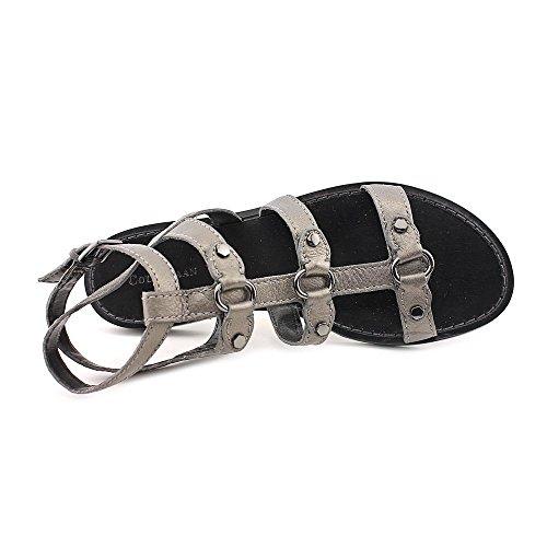 Cole Haan Deandra Vrouw Gladiator Gunsmoke Metallic Grootte 9.5 M