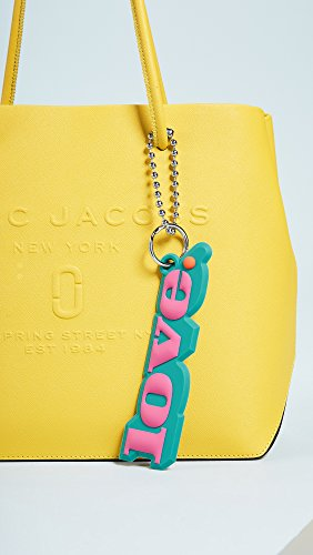 Marc Jacobs Women's Silicone Love Bag Charm, Pink Multi, One Size by Marc Jacobs (Image #4)