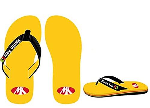 Martin kein–Strand Flip Flops ARUBA gelb Größe 42