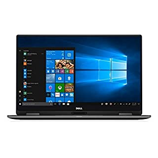 Dell XPS 13 9365 2-in-1 Laptop: Core i7-7Y75, 13.3inch QHD+ Touch Display, 16GB RAM, 512GB SSD, Backlit Keyboard, Windows 10
