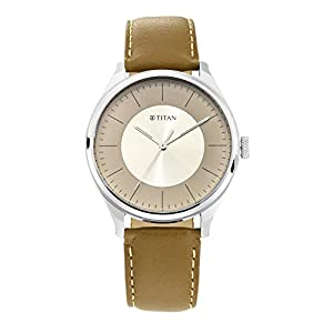 Titan Neo Economy Analog Gray Dial Men's Watch-1802SL09 / 1802SL09