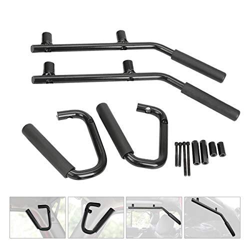 r Left Right Grab Handles Bar Kit for 2007-2017 Jeep Wrangler JK 2DR/4DR ()