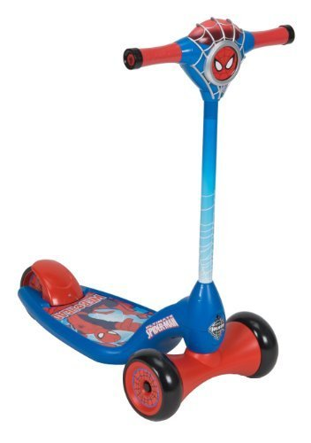 Huffy Bicycle Company Marvel Ultimate Spiderman Lights and Sounds Scooter by Huffy Bicycle Company