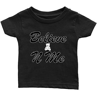 1Faith1Love Believe-N-ME Teddy Infant Tee, Black