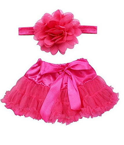 [Baby Infant Newborn Lovely Costume Girls Photo Photography Prop Tutu Skirt Headband Outfits, 0-12months,] (12 Month Girl Costume)