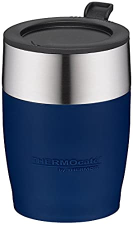 térmica Café by Thermos Adultos térmica Café Desk Cup - Vaso, Acero Inoxidable 0, 25 L isoliertasse, Azul, 0,25 L: Amazon.es: Deportes y aire libre