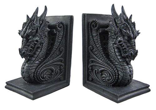sujeta libros decoracion estilo dragones goticos castillo
