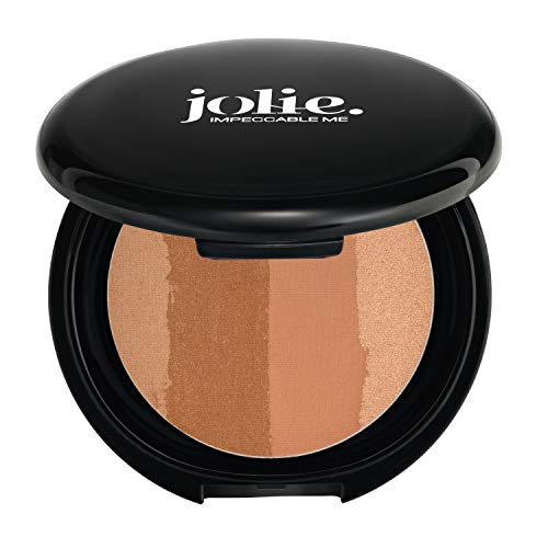 Jolie Color Lines Pressed Bronzing Powder 14g (Tan ()