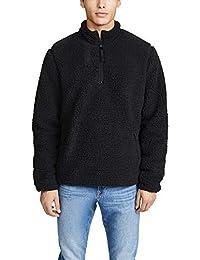 Men's Sherpa Mock Neck Pullover