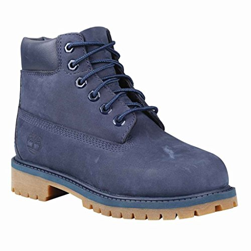 Unisex child Wp Majority Nubuck Timberland In Premium Navy 6 Synthetic With 4w Boot Leather FAdXgnXUW