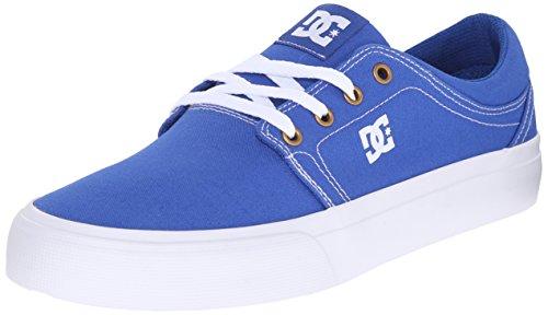 DC Herren Trase TX Unisex Skateschuh Blau Weiss