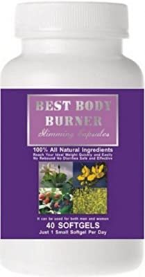 Best Body Burner Slimming Capsules. 100% Natural Weight Loss Pill. 60 Days Money Back Guarantee! by US MARIPOSA