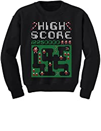TeeStars - Santa Video Game Ugly Christmas Sweater Holiday Youth Kids Sweatshirt