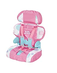 Cadson Car Seat and Booster with Seatbelt for Dolls and Stuff...