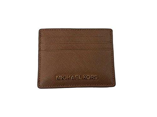 - Michael Kors Jet Set Travel Large Saffiano Leather Card Holder (Luggage)