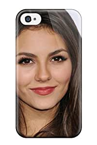 TYH - 8073121K49815779 ipod Case - Tpu Case Protective For ipod Touch 4- Victoria Justice phone case
